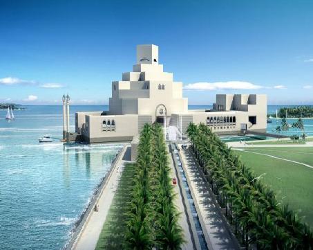 02-Museum of Islamic Arts- Entrance