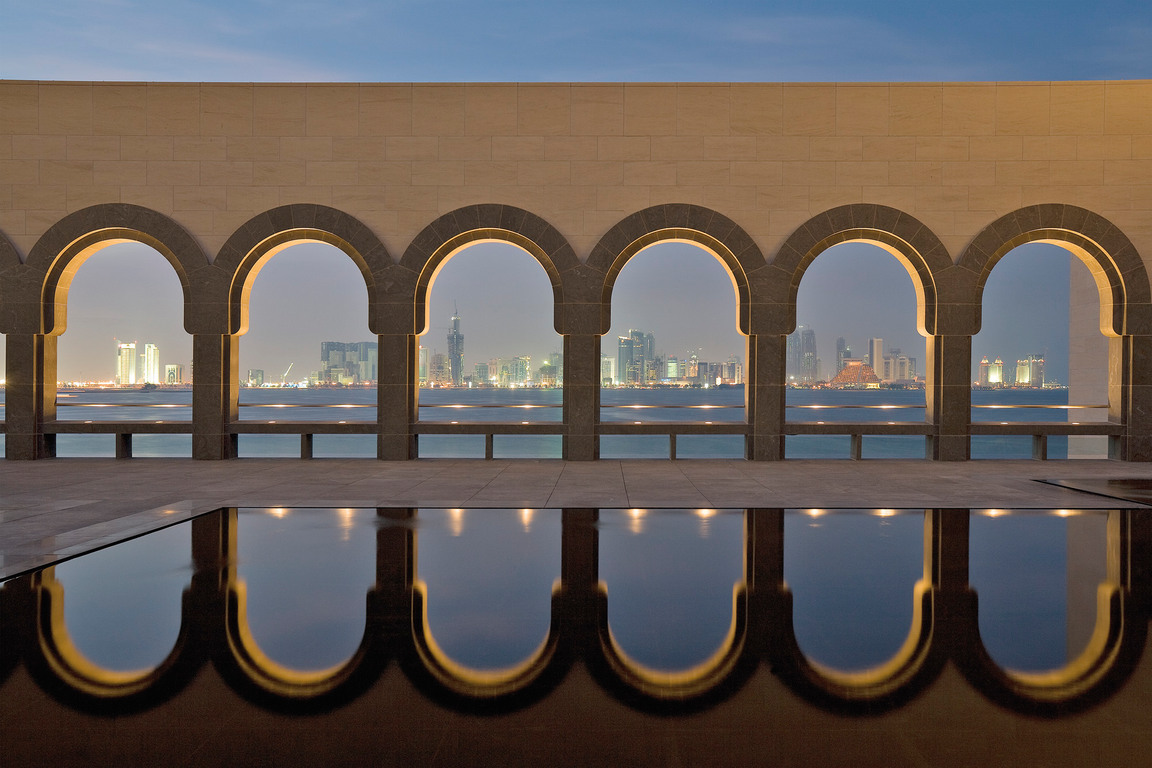 06-Museum of Islamic Arts-Arches