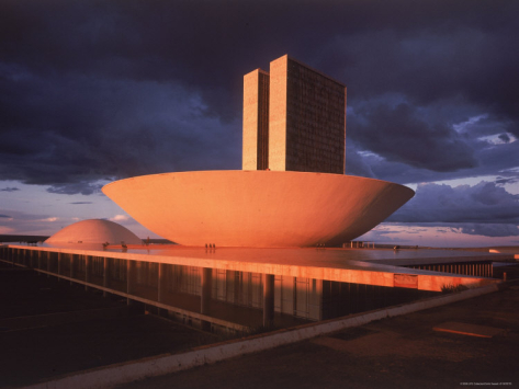 Dmitri Kessel-modernistic facade of Congress Building