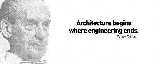 Quote by Walter Gropius