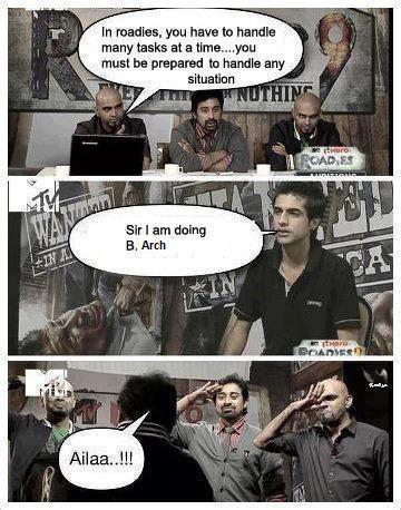 Sir I am Doing B.Arch