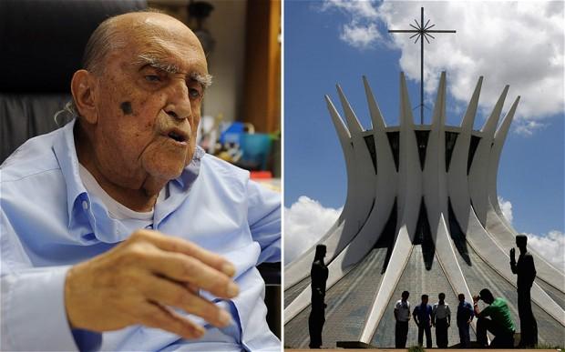 The Metropolitan Cathedral in Brasilia