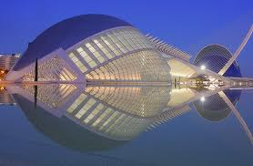 Valencia city of arts and science museum