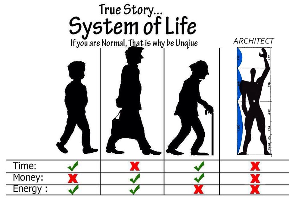 System Of Architect S Life Archi Fied