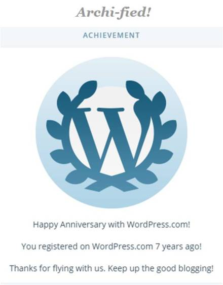 7- years of Archified